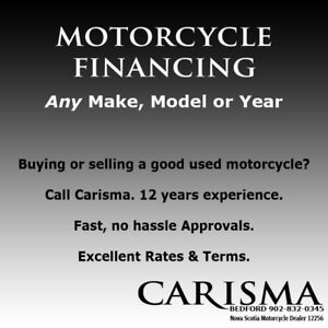 Motorcycle Financing ~ Any Make Model or Year