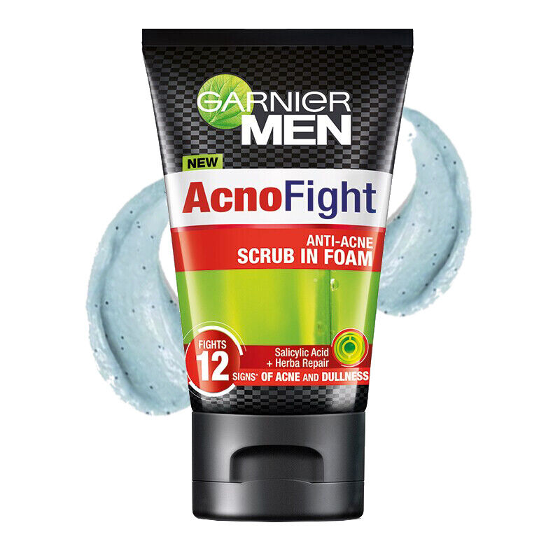 2x ANTI ACNE TREATMENT! Garnier for Men ACNO FIGHT Charcoal