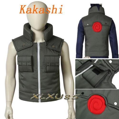 Naruto Hatake Kakashi Cosplay Costume Accessories Headband Customize Halloween