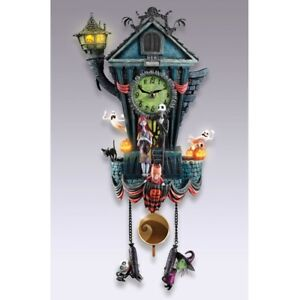 Nightmare Before Christmas Cuckoo Clock from Bradford Exchange