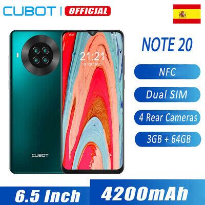 6,5'' CUBOT NOTE 20 4G Dual SIM NFC Smartphone 3GB 64GB 20MP...