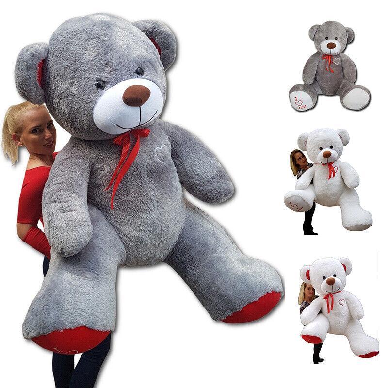 XXL Teddybär Plüsch Kuschel Stoff Tier Riesen Teddy Bär Valentinstag Geschenk XL