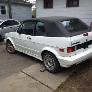 1988 VW Cabriolet