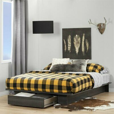 South Shore Holland Full/Queen Platform Bed 54/60 In. with d