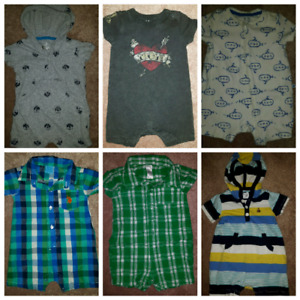 Baby rompers size 3-6M