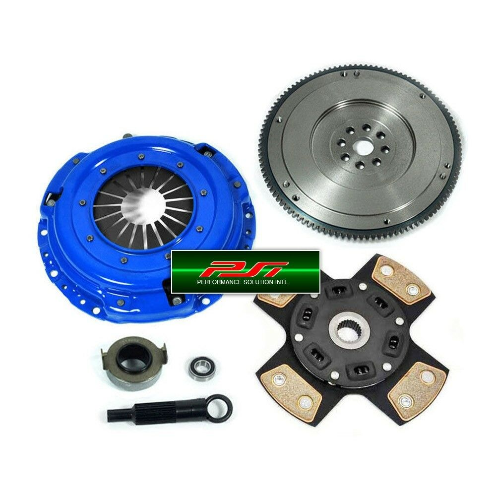PSI 4-PUCK STAGE 3 CLUTCH KIT+ FLYWHEEL 94-01 ACURA