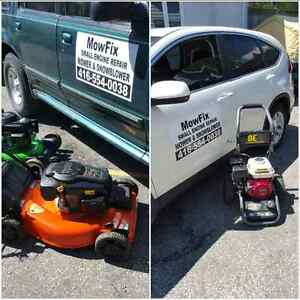 On-Site Lawn Mower Repairs ☆ Mower Tune Ups ☆ Home Visits