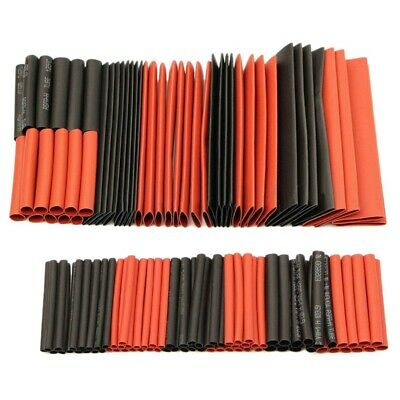 127pcs 21 Heat Shrink Tubing Wire Cable Sleeving Wrap Electrical Connect Set