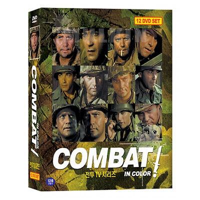 COMBAT (1966-1967) Season 5 - Complete TV Series in Color 12-Disc BOX SET (New)