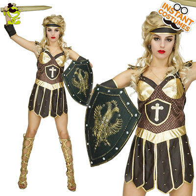Female Gladiator Costumes ( Adult 's Warrior Princess Costume Greek Female Roman Gladiator Fancy)