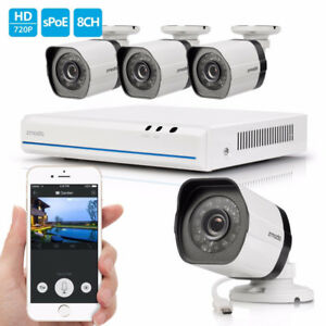 Systeme de Surveillance Security IP Camera NVR 720P HD with 1TB