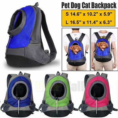 - Small Pet Dog Cat Puppy Carrier Travel Tote Backpack Shoulder Bag Sling Head Out