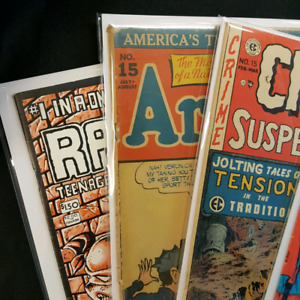 CASH FOR YOUR OLD COMIC BOOKS