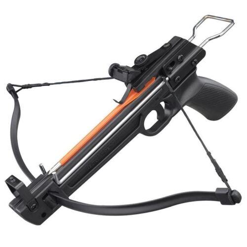 50 lbs Pistol Fiberglass Crossbow With 5 Arrows