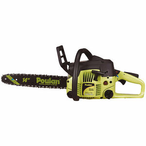 "Poulan 14"" 33cc Gas-Powered Chainsaw, New"
