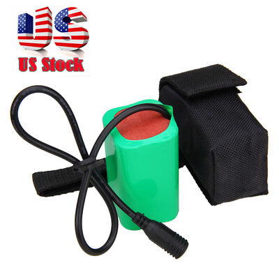 16000mAh 4 x18650 8.4V Waterproof  Rechargeable Li-ion Battery Pack for headlamp