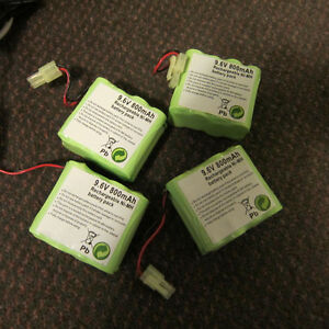 9.6V 800mAh rechargeable Ni-Mh battery pack Kitchener / Waterloo Kitchener Area image 1