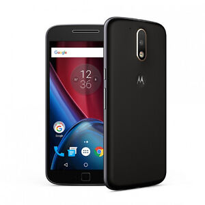 "New / Open Box Motorola G4 Plus 5.5"" Unlocked LTE Android Nougat"