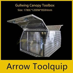Aluninium Gullwing Canopy Toolbox 1780L*1200W*850Hmm Springvale Greater Dandenong Preview