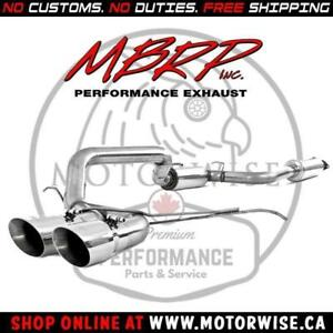 MBRP XP Series Stainless Catback Exhaust System | 2013 to 2018 Ford Focus ST | Shop & Order Online at www.motorwise.ca