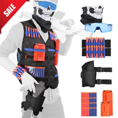NEW Tactical Vest Suit Jacket Kit For Nerf Guns N-Strike Elite Series Accessory
