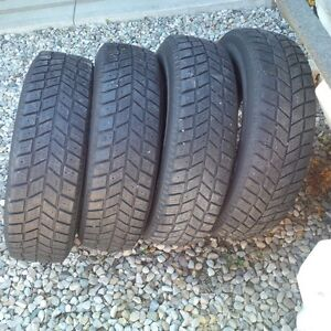 Winter Tires 205/75/15 Kitchener / Waterloo Kitchener Area image 3