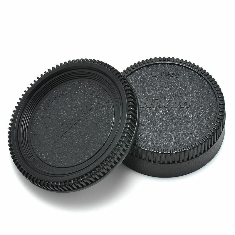 Body Lens Cap Cover  For Nikon AF AF-S Lens DSLR SLR Camera
