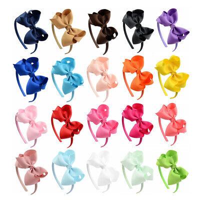 Cute Girls Kids Hair Hoop Band Headband Sweet Bow Headwear Hair Accessories - 80s Hair Accessories