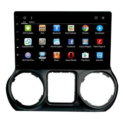 """10.2""""Android Car GPS Navigation Radio Stereo For Jeep Wrangler 2011-2016 USA Sto"""