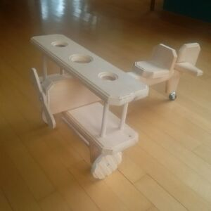 Hand-crafted wooden biplane St. John's Newfoundland image 5