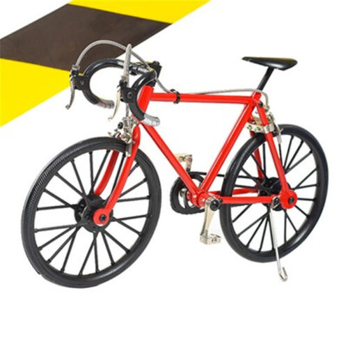 3D Mountain Bicycles Metal Bike Cycling Model  Exquisite DIY Bedroom Decoration