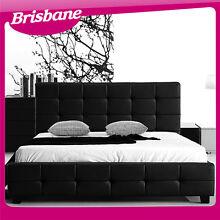 Italian Design Deluxe Mondo Faux Leather Bed Frame LBD01 Brisbane Eagle Farm Brisbane North East Preview