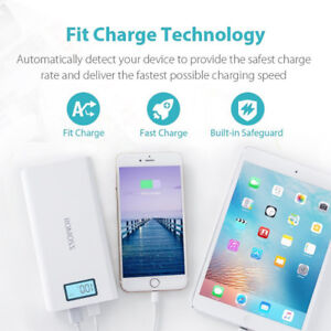 Romoss Solo 6 Plus 16000 mAh 2 Port 2.1A Power Bank