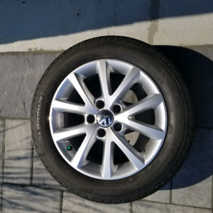 205/55/16 VW Oem mags micheline tires