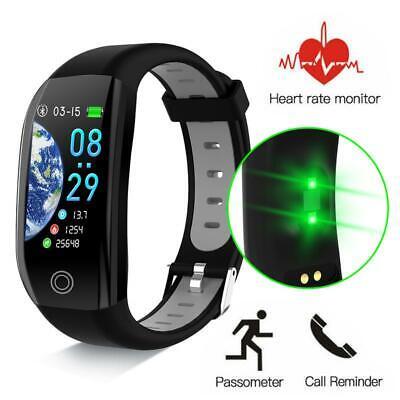 Bluetooth IP68 Smartwatch Wasserdicht Armband Fitness Tracker Pulsuhr Uhr DHL