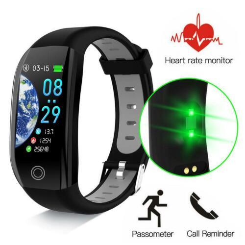Bluetooth IP68 Smartwatch Wasserdicht Armband Fitness Tracker Pulsuhr GPS Uhr DE