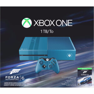 Xbox One 1000 gigs Forza 6 limited édition