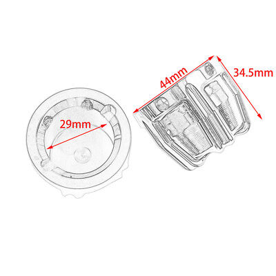 Motorcycle 29MM Front Axle Nut Cover Cap Fit For Harley