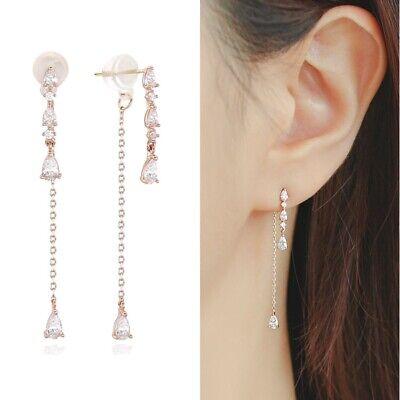 [LLOYD] 10K Pink Gold Dew Drop Earrings LPTJ2039T with Case K-beauty