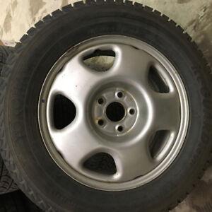 Honda CR-V tires on rims. Great price