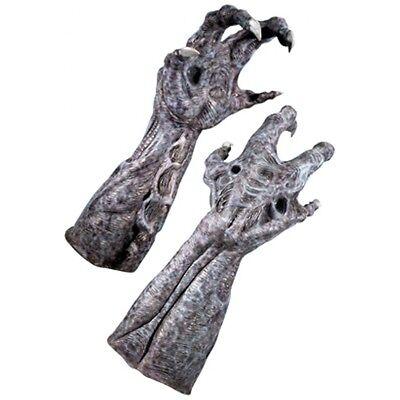 Alien Hands Costume (Alien Hands Adult Costume Gloves AvP Alien vs)