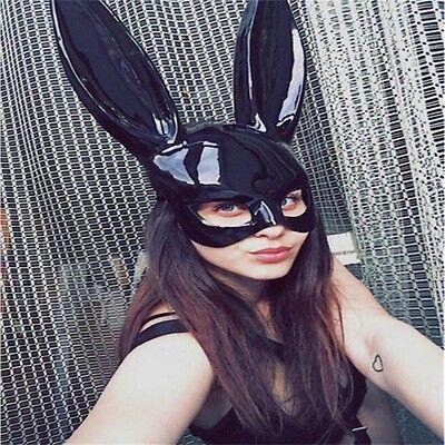 Frauen Sexy Halloween Cosplay Bar Ball Masquerade Bunny Kaninchen Maske