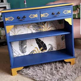 Upcycled Vintage Display/Book/Gin Cabinet