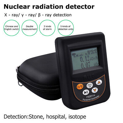 LCD Nuclear Radiation Detector Dosimeter Geiger Counter γ β X-Ray Tester Meter gebraucht kaufen  Versand nach Germany