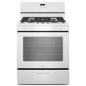 "WHIRLPOOL 30"" GAS STOVE RANGE LIKE NEW MINIMAL USE 6 MONTH WARR"