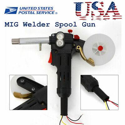 Portable Welder 24v Mig Welding Gun Welding Machine Wire Feeder Aluminum Welder