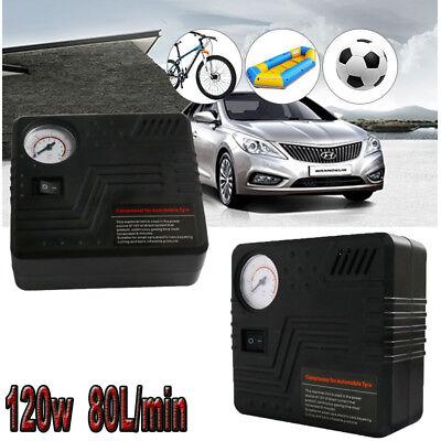 Mini Kompressor 12 Volt 25L/min Druckluft Auto Elektrische Luftpumpe Pumpe KFZ