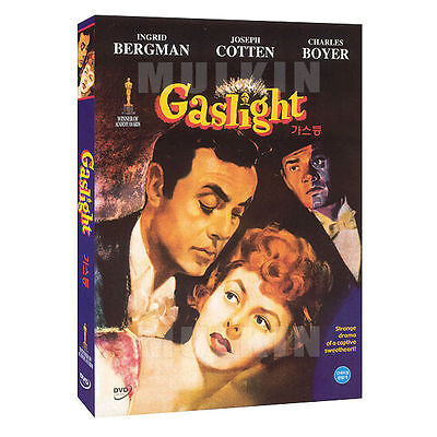 Gaslight (1944) DVD - Charles Boyer, Ingrid Bergman (New *Sealed *All Region)