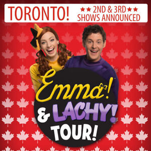 Emma & Lachy Tour Tickets (The Wiggles)