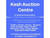 MACHINERY & CONSTRUCTION AUCTION TAKING ENTRIES NOW